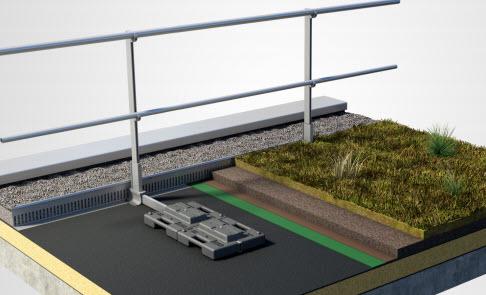 Barrial Autoporte Systeme Gardecorps Leste Aluminium Toiture Terrasse