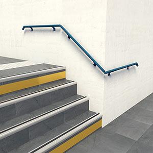dani alu handrail on squire. Black Bedroom Furniture Sets. Home Design Ideas