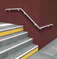 Handrail on squire