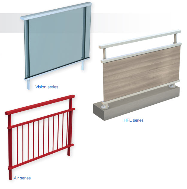 panorama-freestanding-railing-aluminium-roof-terrace-safety-filling-types