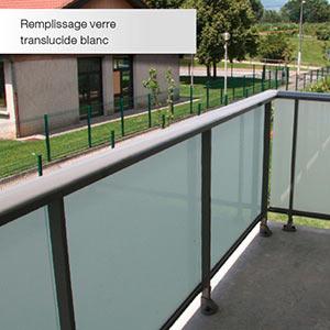 dani alu - Panorama: garde-corps aluminium pour balcon accessible
