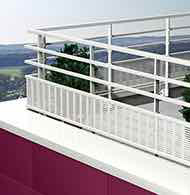 Freestanding Railing systems