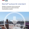 Barrial freestanding standard